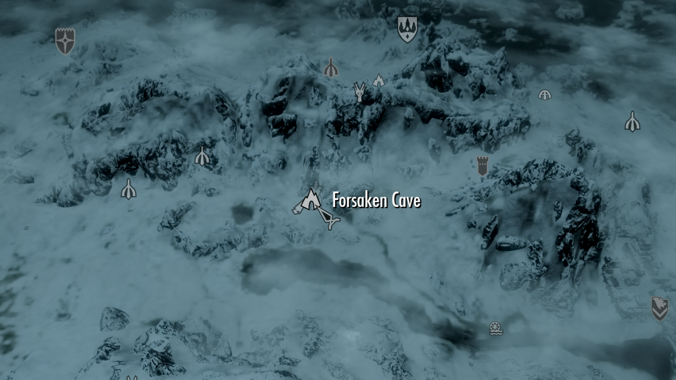 Skyrim: Forsaken Cave (Word of Power: Leech of the Marked for Death
