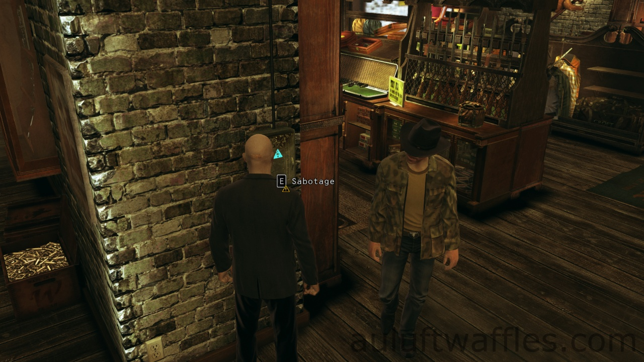 Hitman Absolution Purist Difficulty Guide Birdie S Gift Gun Shop Recovering Silverballers Without Target Shooting Auluftwaffles Com Short Video Game Guides