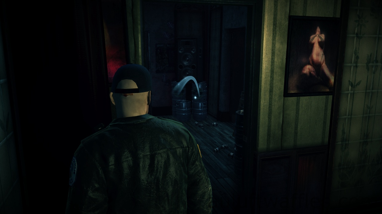 Hitman Absolution Dressing Room