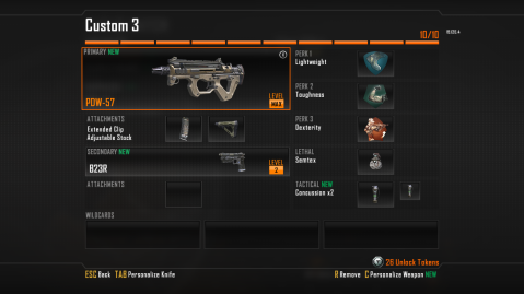 Best Class Setup for the PDW-57 Sub Machine Gun in Black Ops 2