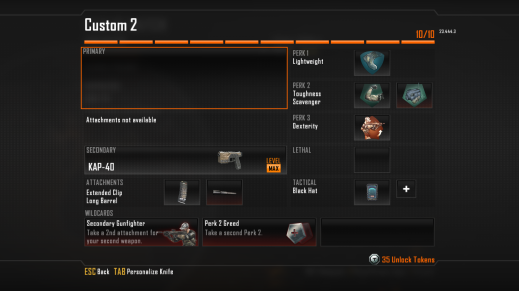 KAP-40 Best Class Setup, Call of Duty Black Ops 2 Weapon Guide