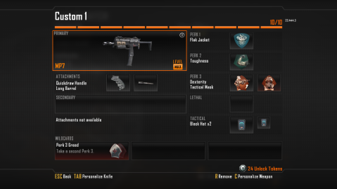 MP7 Best Class Setup in Call of Duty Black Ops 2