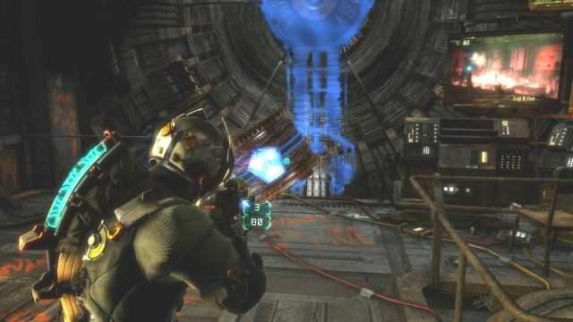 Stopping Generator in Chapter 5 Optional Part in Dead Space 3