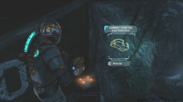 Compact Directed Ejection Field Third Weapon Part Location in Chapter 5 - Expect Delays in Dead Space 3