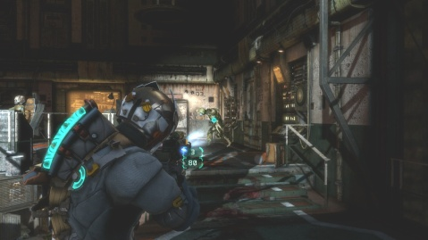 Enemies Attack You After Capturing Loot Cache in Chapter 5 Optional Part in Dead Space 3