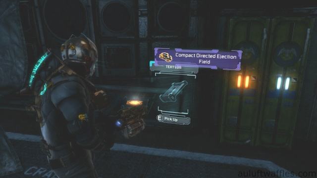Third Text Log Location in Chapter 5 - Expect Delays in Dead Space 3