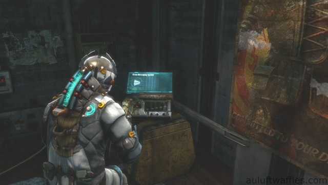 Third Audio Log Location in Chapter 5 - Expect Delays in Dead Space 3
