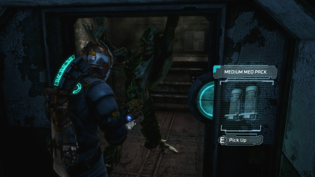 Spitter Necromorph Attacks You Out of the Elevator in Chapter 5 - Expect Delays in Dead Space 3