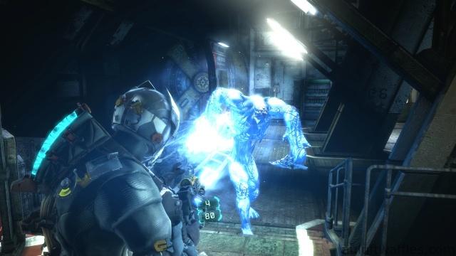 Regenerating Necromorph in Chapter 5 - Expect Delays in Dead Space 3