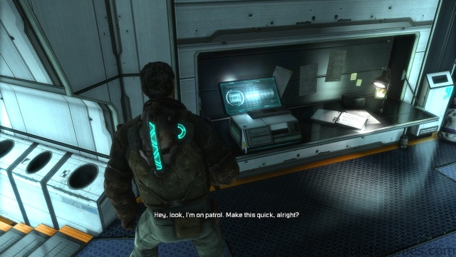 Audio Log Locating in Chapter 2 - On Your Own in Dead Space 3