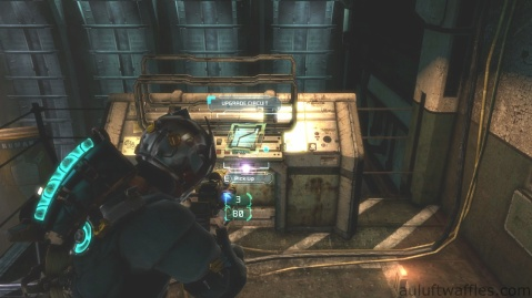 Third Upgrade Circuit Location in Chapter 5 - Expect Delays in Dead Space 3