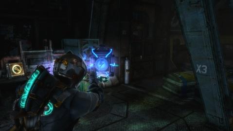 Activating the Door in Chapter 3 in Dead Space 3
