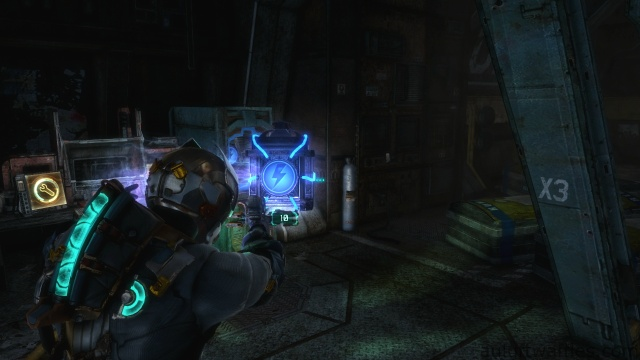 Activating the Door in Chapter 3 in Dead Space 3