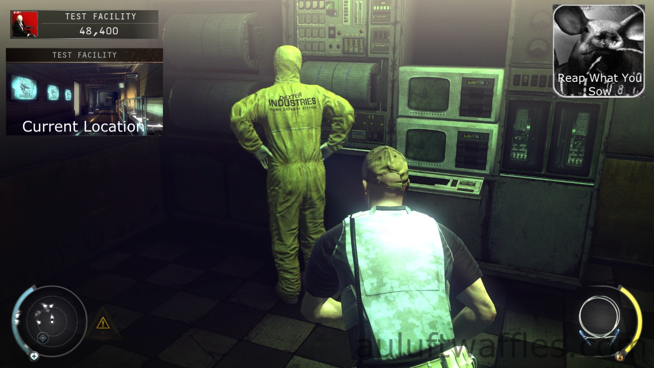 Death Factory Challenge Guide Hitman Absolution Research And Hidings Reap What You Sow Auluftwaffles Com Short Video Game Guides