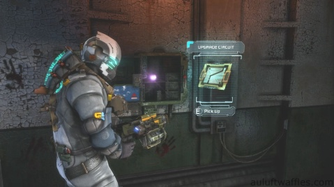 Fourth Upgrade Circuit Location in Chapter 5 - Expect Delays in Dead Space 3