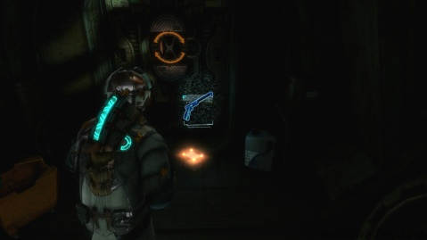 Weapon Core, Heavy Standard Frame, Location in Chapter 3 in Dead Space 3