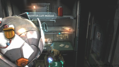 Rotator Cuff Module Fourth Weapon Part Location in Chapter 5 - Expect Delays in Dead Space 3