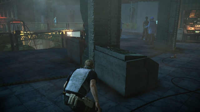 Walk Up to the Wagon in R&D in Hitman: Absolution