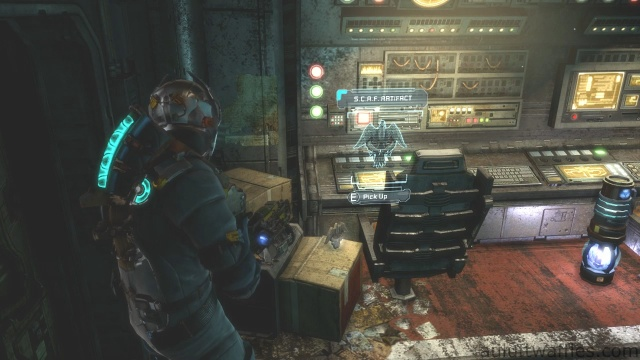 Third S.C.A.F. Artifact Location in Chapter 5 - Expect Delays in Dead Space 3