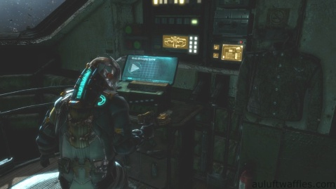 Audio Log Location in Chapter 5 - Expect Delays in Dead Space 3