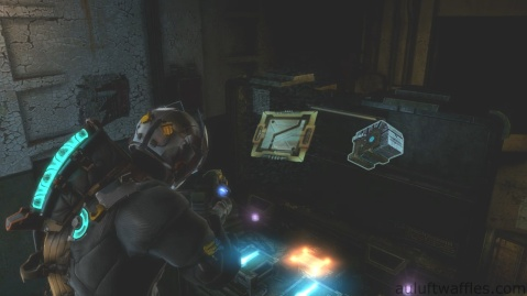 Fifth and Sixth Upgrade Circuit and Medic Support Sixth Weapon Part Location in Chapter 5 - Expect Delays in Dead Space 3