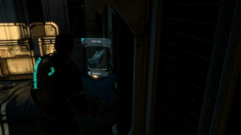 Text Log Location in Chapter 1 - Rude Awakening in Dead Space 3