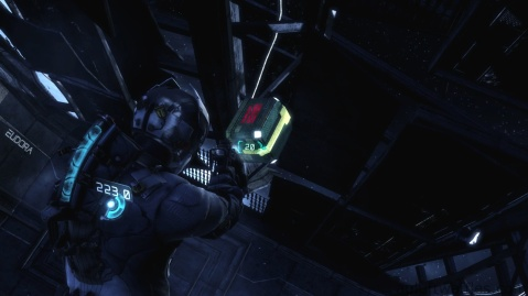 Getting the Floating Loot in Chapter 2 - On Your Own in Dead Space 3