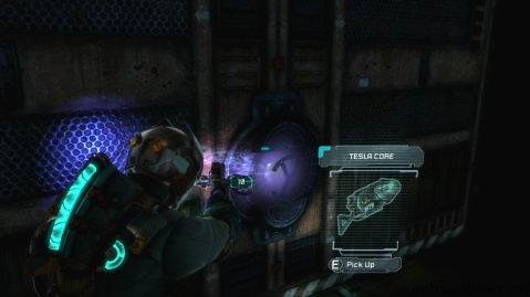 Weapon Core, Tesla Core, Location in Chapter 3 in Dead Space 3