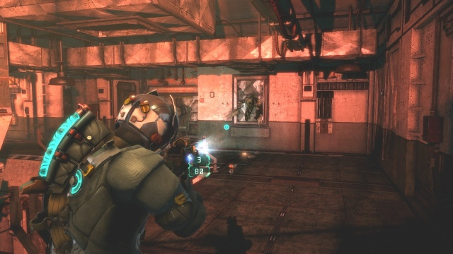 Stay in This Corner in Chapter 5 Optional Part in Dead Space 3