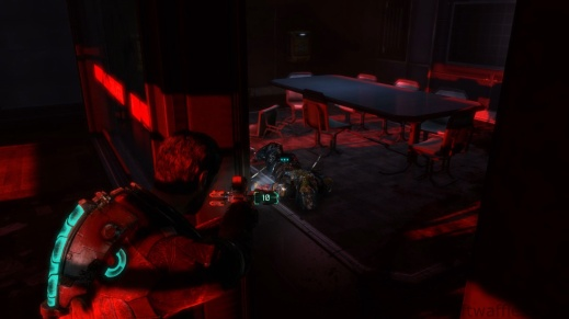 An Enemy that will Get Up if You Get Close or Shoot It in Chapter 1 - Rude Awakening in Dead Space 3