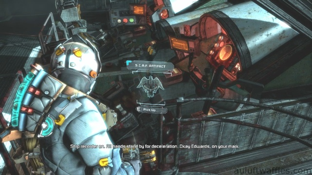 S.C.A.F. Artifact Location in Chapter 5 - Expect Delays in Dead Space 3