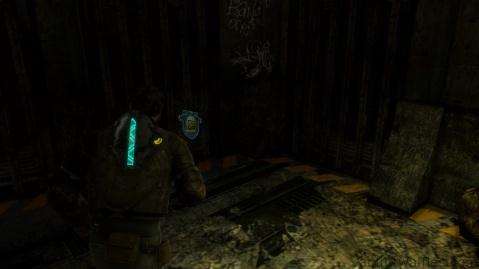 Location of EarthGov Artifact in Chapter 1 - Rude Awakening in Dead Space 3