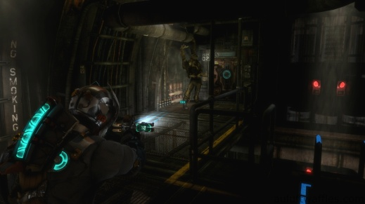 Enemy Spawns Behind You in Optional Part of Chapter 4 - Expect Delays in Dead Space 3
