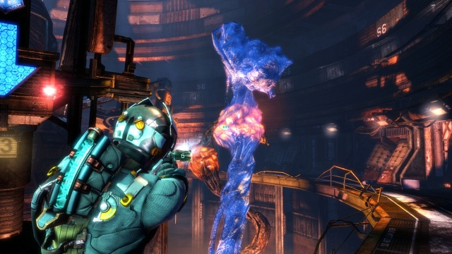 Giant Tentacle in Chapter 4 - Expect Delays in Dead Space 3