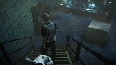 leave Dr. Valentine's Body Here in R&D in Hitman: Absolution