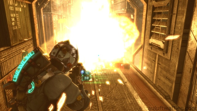 Telekinesis Tutorial in Chapter 5 - Expect Delays in Dead Space 3