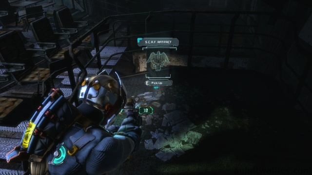 S.C.A.F. Artifact Location in Chapter 3 in Dead Space 3