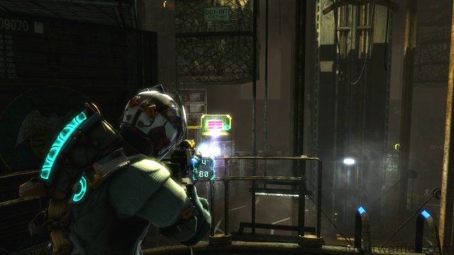 Getting the Loot in the Cargo Hold Using Telekinesis in Chapter 5 - Expect Delays in Dead Space 3