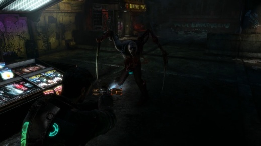 Enemy that Charges at You in Chapter 1 - Rude Awakening in Dead Space 3
