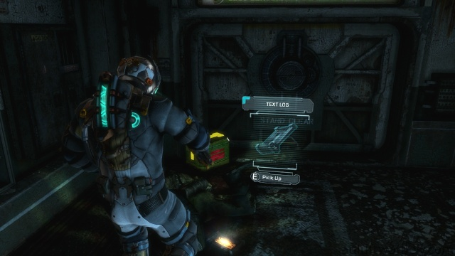 First Text Log Location in Chapter 3 in Dead Space 3