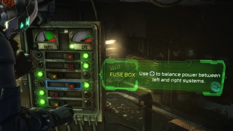 Power Up Puzzle in Optional Part of Chapter 4 - Expect Delays in Dead Space 3