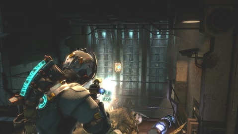 Third Fuse Box in Chapter 5 Optional Part in Dead Space 3