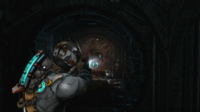 Taking Care of the Necromorph Spawner in the Wall in Chapter 5 - Expect Delays in Dead Space 3