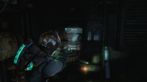 Second Text Log Location in Chapter 3 in Dead Space 3
