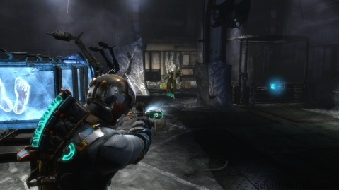 Walking Enemy in Research Room in Optional Part of Chapter 4 - Expect Delays in Dead Space 3