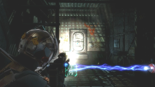 Fuse Box in Ventilation Shaft in Chapter 5 Optional Part in Dead Space 3