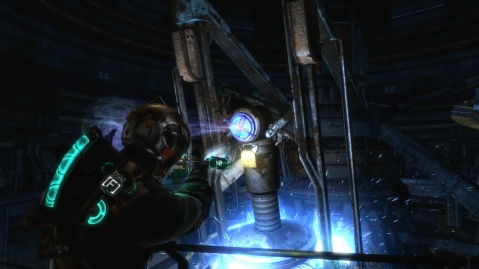 Turning Wheel to Activate the Generator in Chapter 3 in Dead Space 3