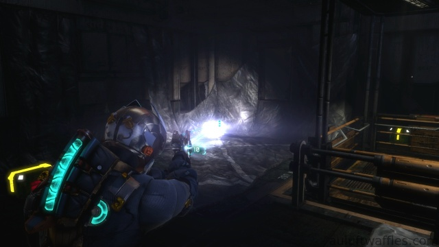 Hidden Loot in Research Room in Optional Part of Chapter 4 - Expect Delays in Dead Space 3