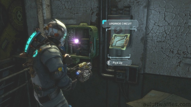 Second Upgrade Circuit Location in Chapter 5 - Expect Delays in Dead Space 3