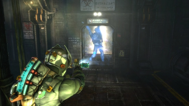 Enemy Attacks You in Corridor in Optional Part of Chapter 4 - Expect Delays in Dead Space 3